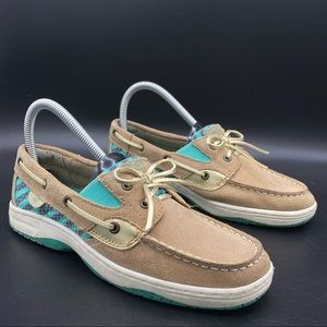 Sperry Butterfly Fish Leather Fashion Boat Shoes